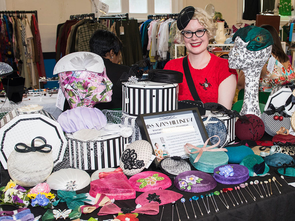 millinery at do you vintage? vintage and craft fair