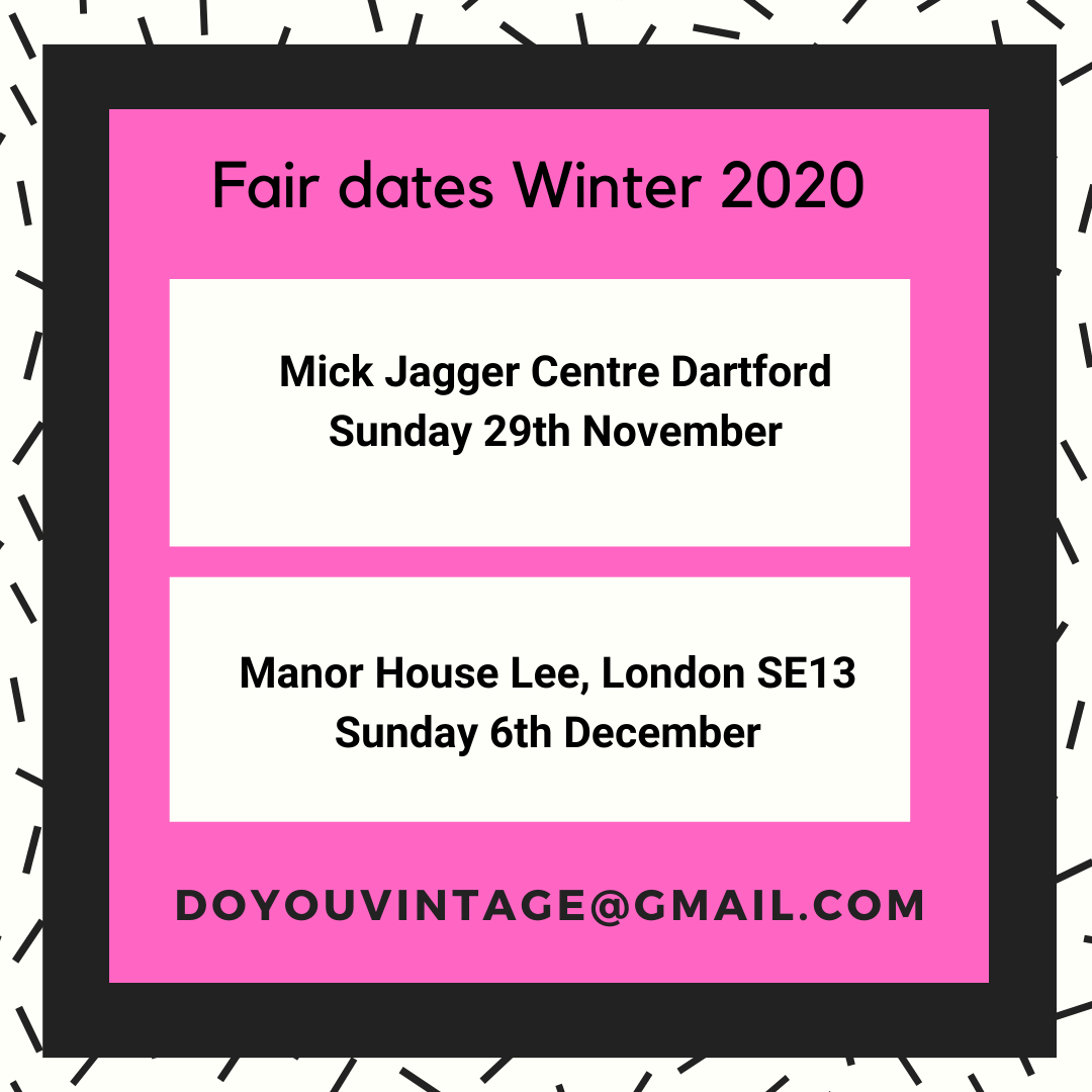 Do You Vintage autumn & winter fair dates 2020